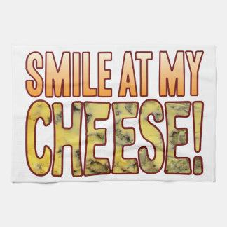 ブルーチーズのスマイル キッチンタオル
