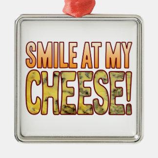 ブルーチーズのスマイル メタルオーナメント