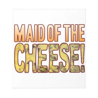 ブルーチーズの女中 ノートパッド
