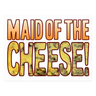 ブルーチーズの女中 ポストカード