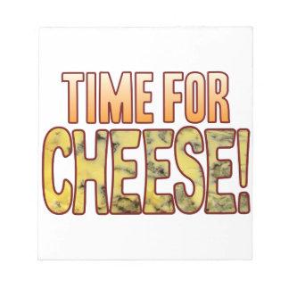 ブルーチーズの時間 ノートパッド