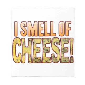 ブルーチーズの臭い ノートパッド