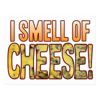 ブルーチーズの臭い ポストカード
