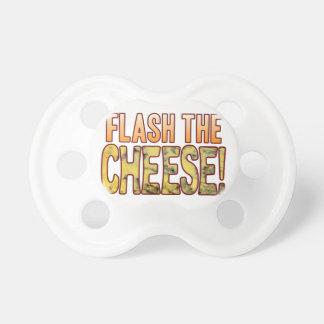 ブルーチーズは点滅します おしゃぶり