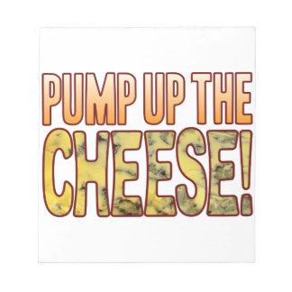 ブルーチーズをポンプでくんで下さい ノートパッド