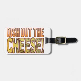 ブルーチーズを分配して下さい ラゲッジタグ