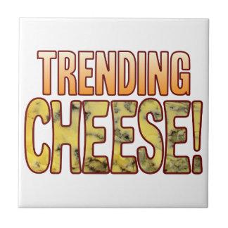 ブルーチーズを向くこと タイル