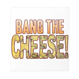 ブルーチーズを強打して下さい ノートパッド