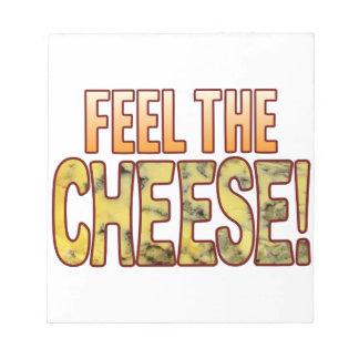ブルーチーズを感じて下さい ノートパッド