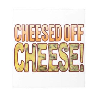 ブルーチーズを離れたCheesed ノートパッド