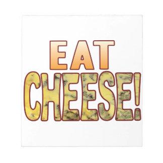 ブルーチーズを食べて下さい ノートパッド