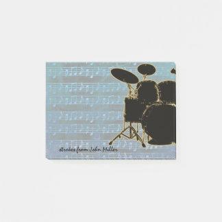 ブルーノートのドラム ポストイット