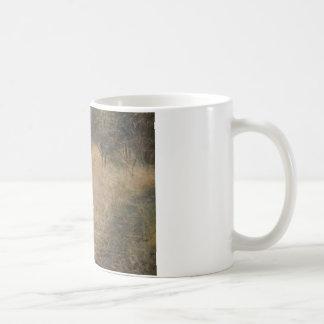 ブルーノLiljefors -猫の鳥の狩り コーヒーマグカップ