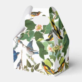 ブルーバードのオリオールズの鳥の野性生物の花の好意箱 フェイバーボックス