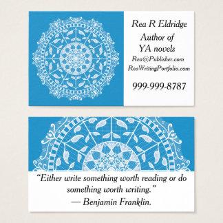 ブルーバードの曼荼羅 名刺