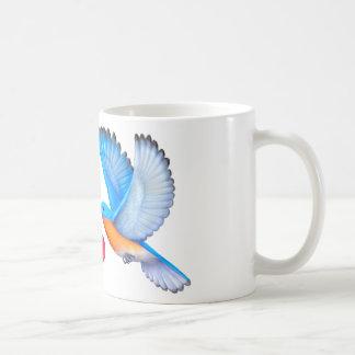 ブルーバード愛幸福のコーヒー・マグ コーヒーマグカップ