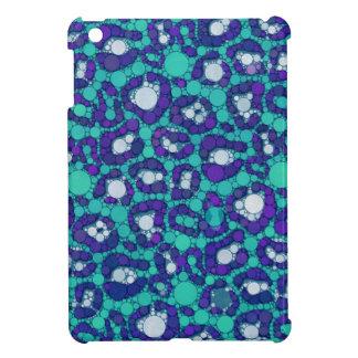 ブルーベリーのターコイズのチータ iPad MINIカバー