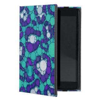 ブルーベリーのターコイズのチータ iPad MINI ケース