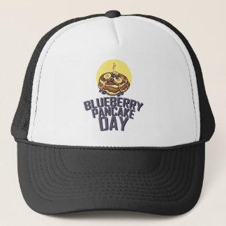 ブルーベリーのパンケーキ日-感謝日 キャップ