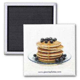 ブルーベリーのパンケーキ磁石 マグネット