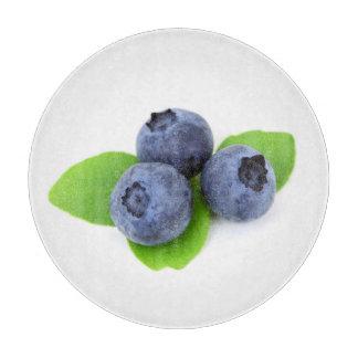 ブルーベリーのフルーツ カッティングボード