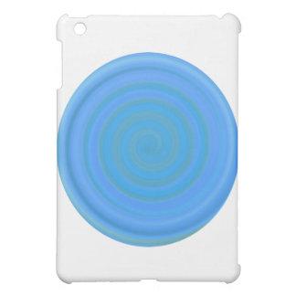 ブルーベリーのレトロキャンデーの渦巻 iPad MINI CASE