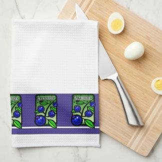 ブルーベリーの種のパックの台所タオル キッチンタオル