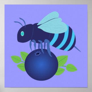 ブルーベリーの蜂 ポスター