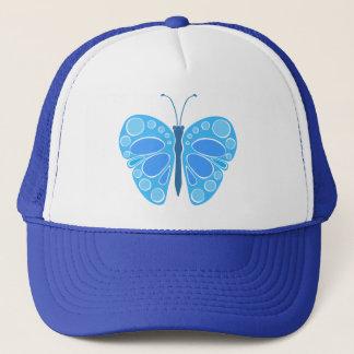 ブルーベリー60sのお洒落な蝶 キャップ