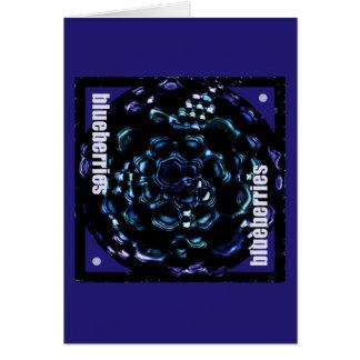 ブルーベリー カード