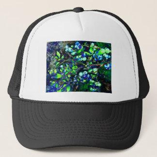ブルーベリー-緑の色相 キャップ