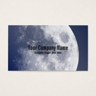 ブルームーンの月の名刺 名刺