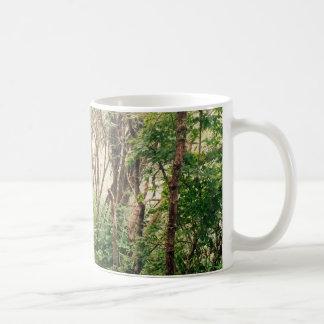 ブルーリッジ山脈の霧深い朝のコーヒー・マグ コーヒーマグカップ
