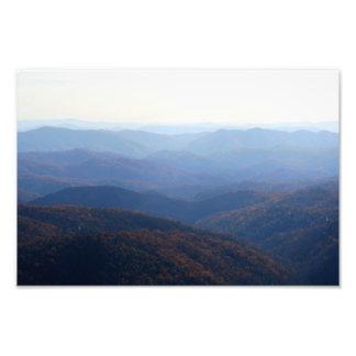 ブルーリッジ山脈、ノースカロライナ フォトプリント