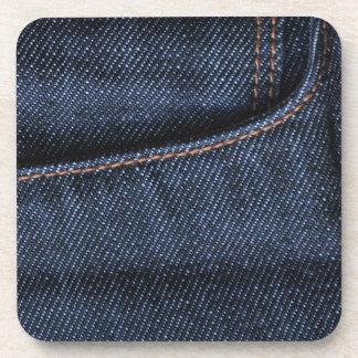 ブルー・ジーンズのポケット コースター