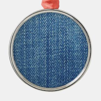 ブルー・ジーンズの質 メタルオーナメント