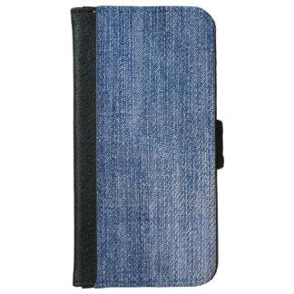 ブルー・ジーンズ iPhone 6/6S ウォレットケース