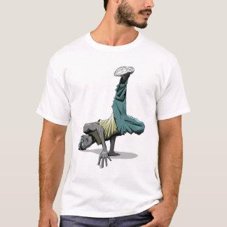 ブレイクダンスの姿勢1 Tシャツ