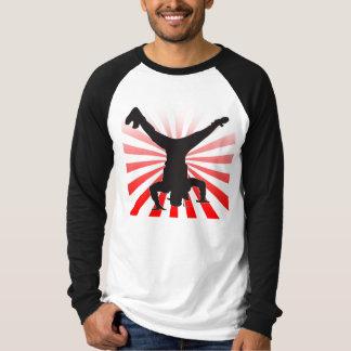 ブレイクダンスの爆発 Tシャツ