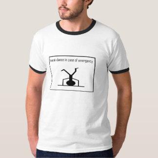 ブレイクダンスの緊急事態 Tシャツ