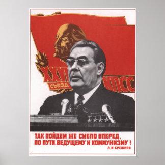 ブレジネフ ポスター