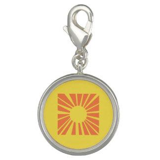 ブレスレットのための明るい太陽のチャーム チャーム