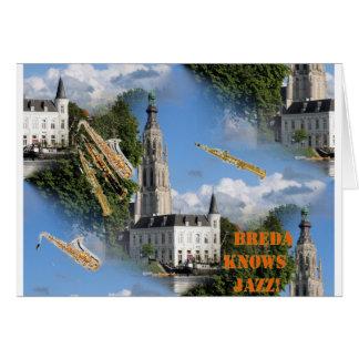 ブレダGrote Kerkジャズ カード