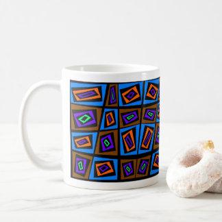 ブレーズGauba芸術家による織物のデザイン コーヒーマグカップ