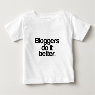 ブロガーそれはよくします ベビーTシャツ