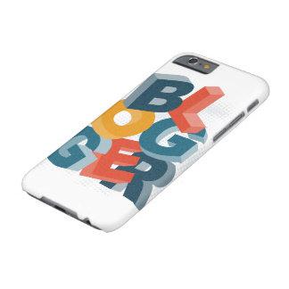 ブロガー3Dの手紙 BARELY THERE iPhone 6 ケース