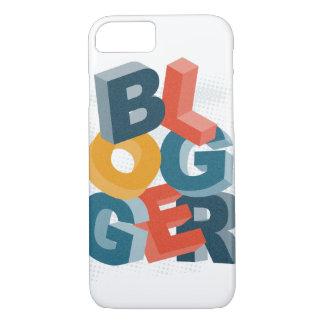 ブロガー3Dの手紙 iPhone 8/7ケース
