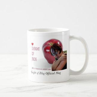 ブログの役人のマグのSleight コーヒーマグカップ