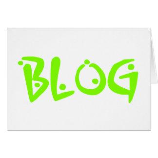 ブログ カード