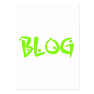 ブログ ポストカード
